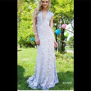 Jovani 78450 White Gown